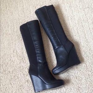 Steve Madden pull on boots 6.5